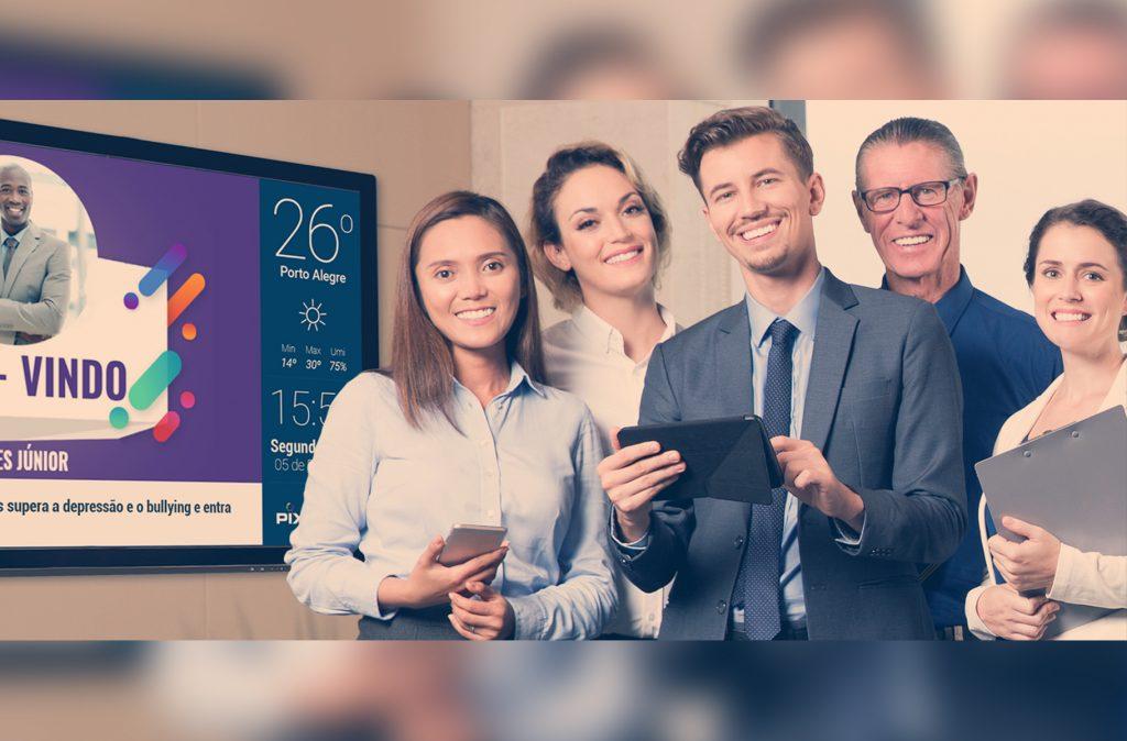 TV corporativa e suas funcionalidades na empresa