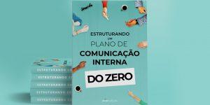 livros azuis sobre uma mesa - livro sobre Comunicação Interna do Zero