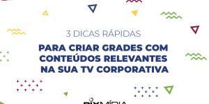 conteúdo para tv corporativa