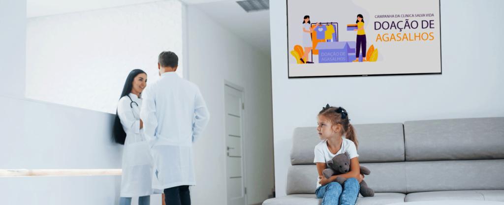 Digital signage e a saúde: por que investir?